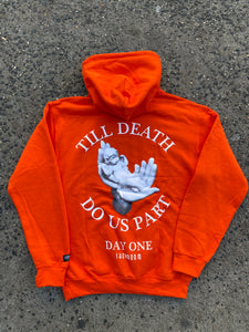 "Showroom ""Day One"" Hoodie (Orange)"