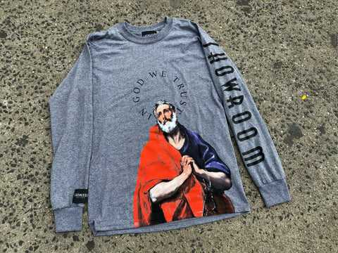 "SHOWROOM ""In God We Trust"" long sleeve tee"