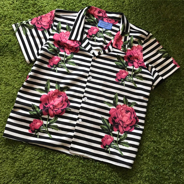 "Yachtpay ""Rosa"" Camp Shirt (Salmon)"