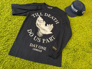 "Showroom ""Day One"" Tee (Navy)"