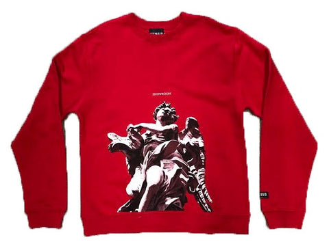 Angels Crewneck (Red)