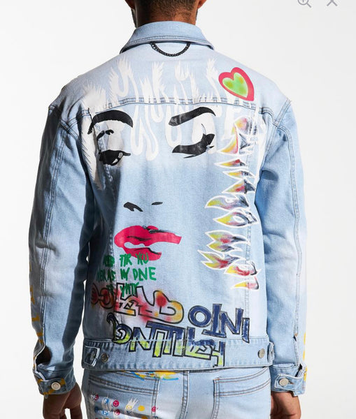 "New La ""Chanel"" Jean Jacket"