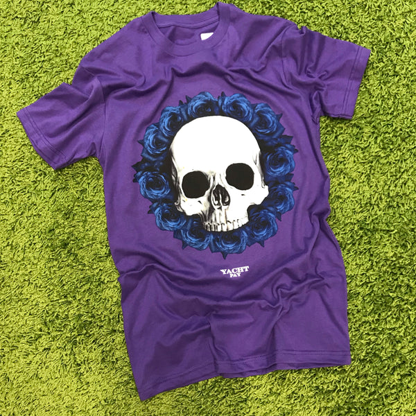 "YachtPay ""BleedingRoses"" Tee (Purple)"