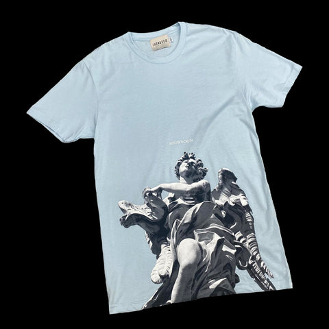 "Showroom ""INRI"" tee (Light Blue)"