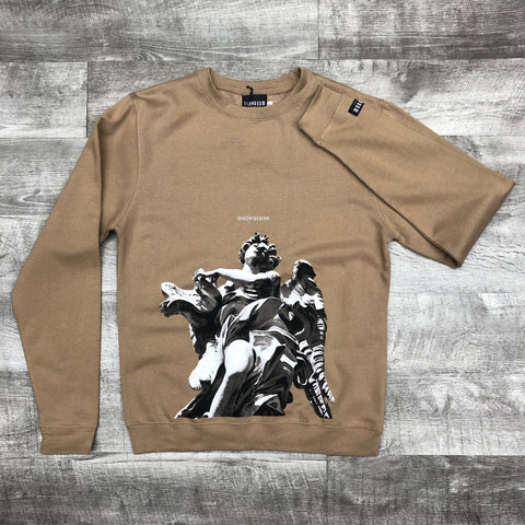 "SR ""Angels"" Crewneck (Tan)"