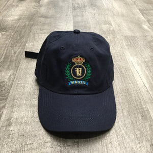 Yacht Pay Crest Dad Hat (Navy Blue)