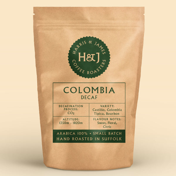 Columbia Decaf - Popayan Plateau, Cauca Valley 227g
