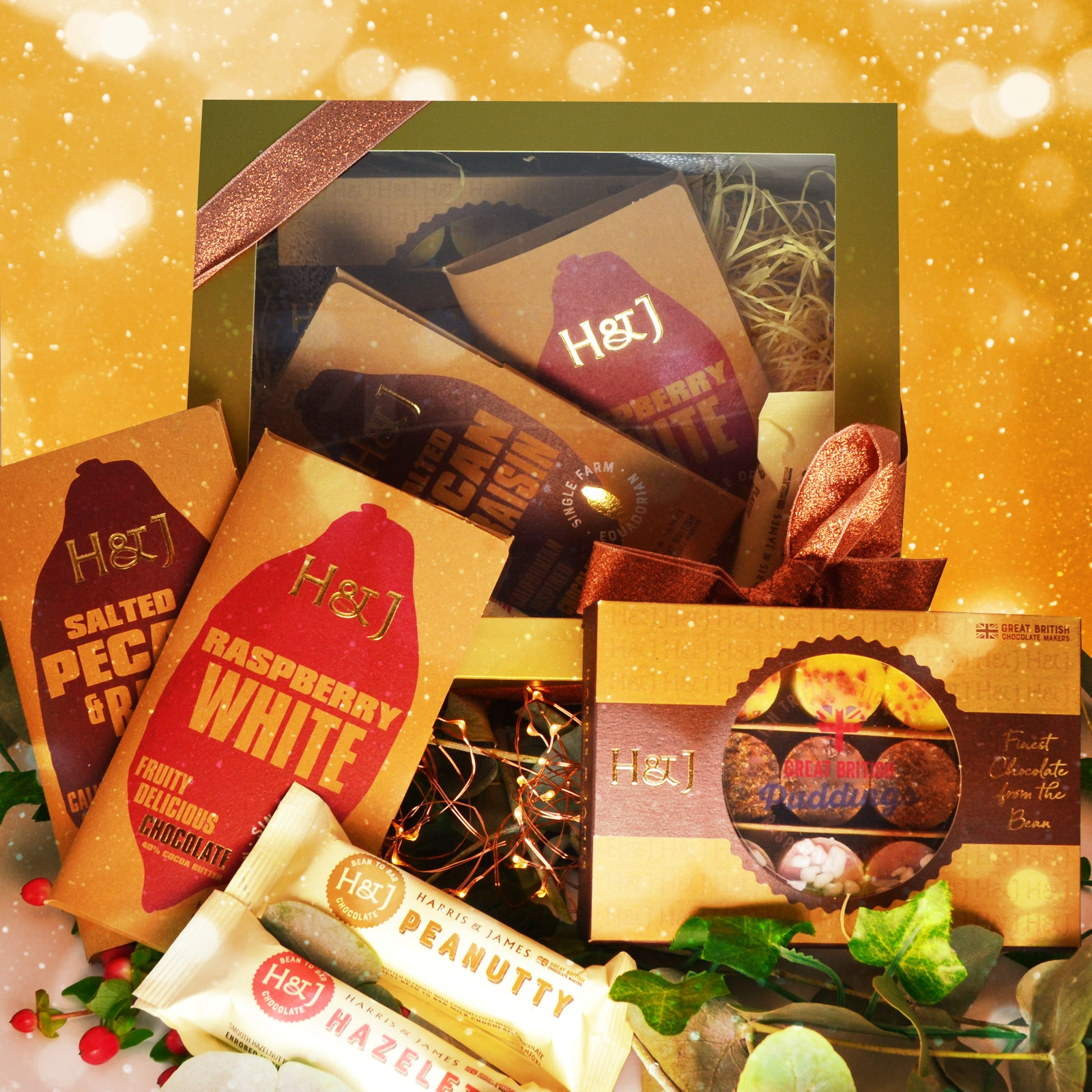 Chocolate Fruit & Nut Selection Hamper