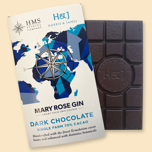 HMS Spirit's Mary Rose Gin Chocolate