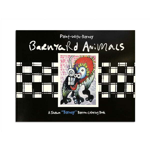 Barnyard Animals Coloring Book