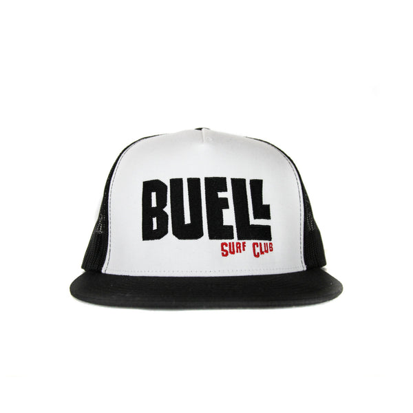 Buell Surf Club Trucker Hat - Black/White