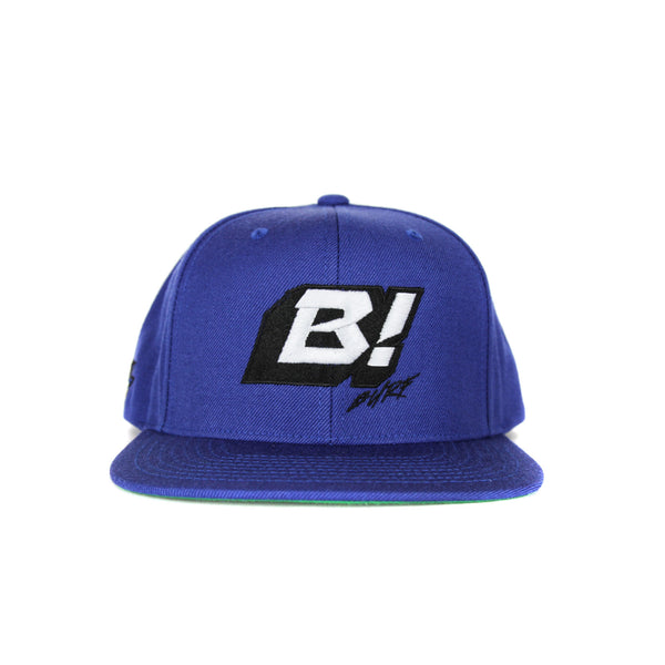 Buell Icon Snapback Hat - Royal Blue