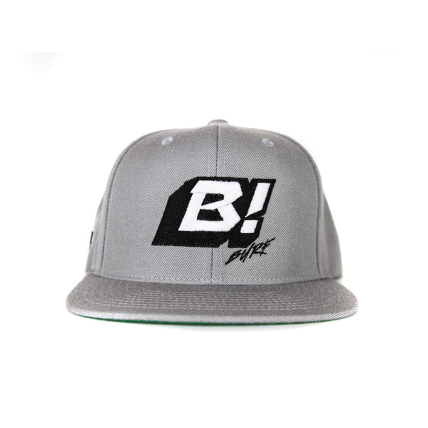Men's Icon Snap Back Silver