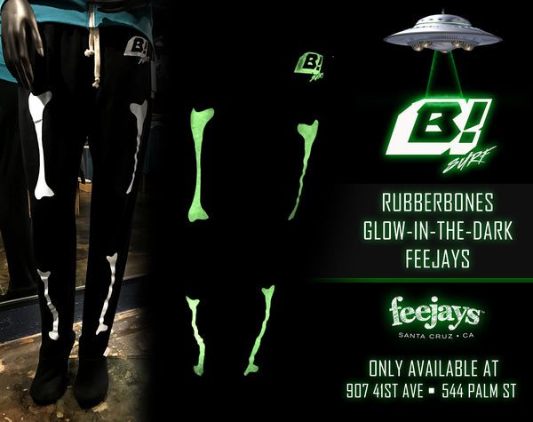 Men's Feejays Bones Glow-In-The-Dark
