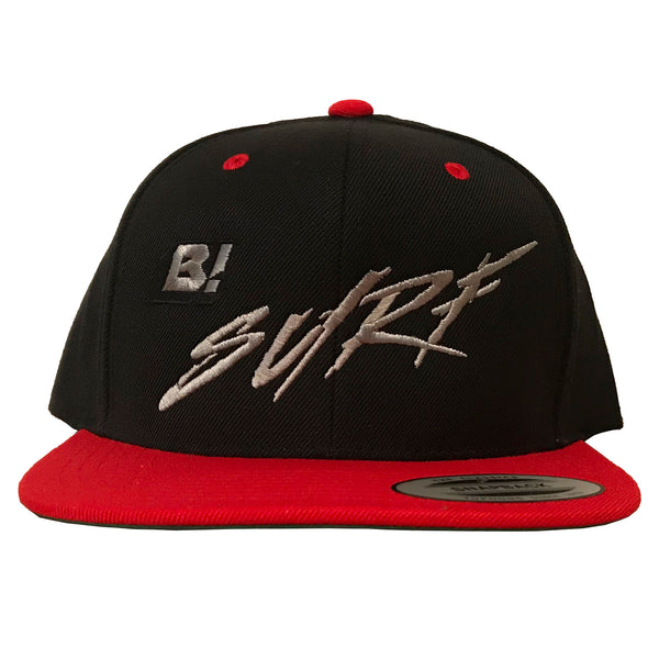 Buell B! Surf 2-Tone Snapback Hat - Black/Red