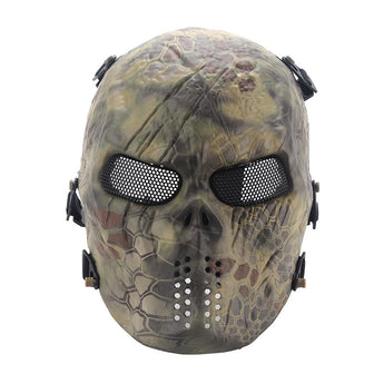 Tactical Outdoor Military Ghost Airsoft Camouflage Face Mask