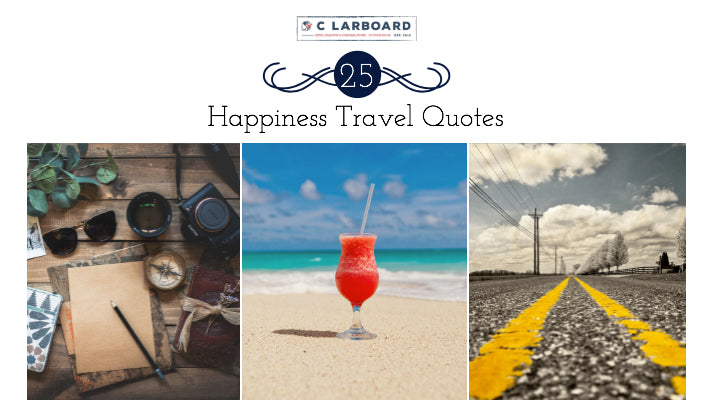 25 Happiness Travel Quotes