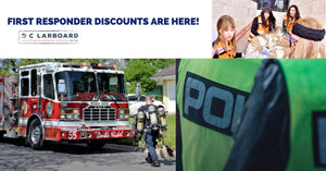 Fire, EMT & Law Enforcement Discounts Have Arrived at C Larboard