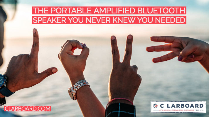 The Portable Amplified Speaker You Never Knew You Needed