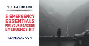 5 Emergency Essentials For Your Roadside Emergency Kit