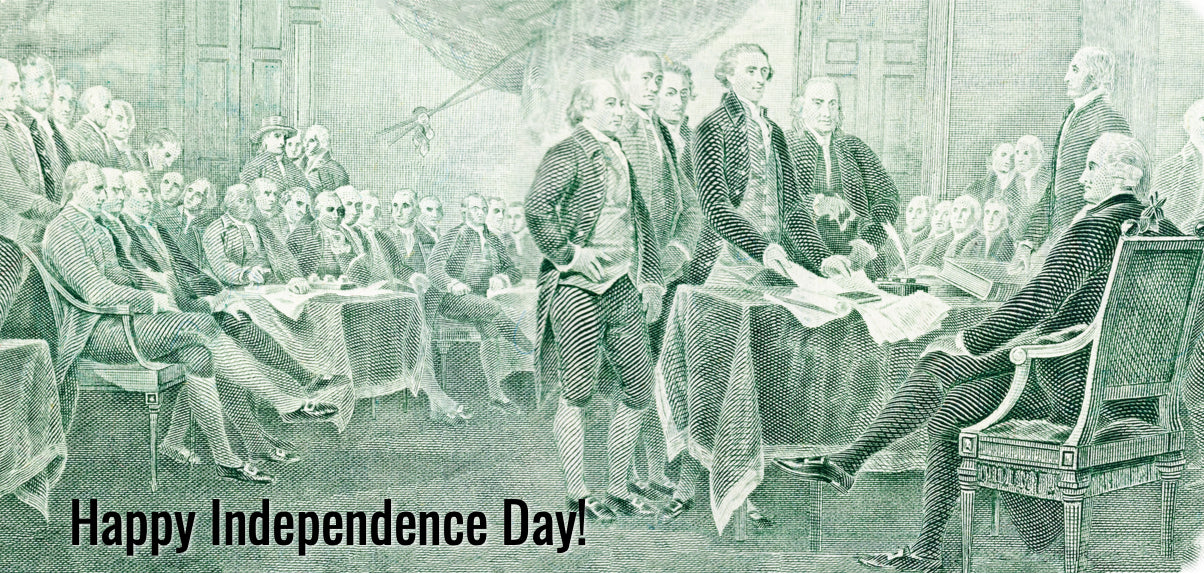 C Larboard Shares with You The Declaration of Independence, 1776