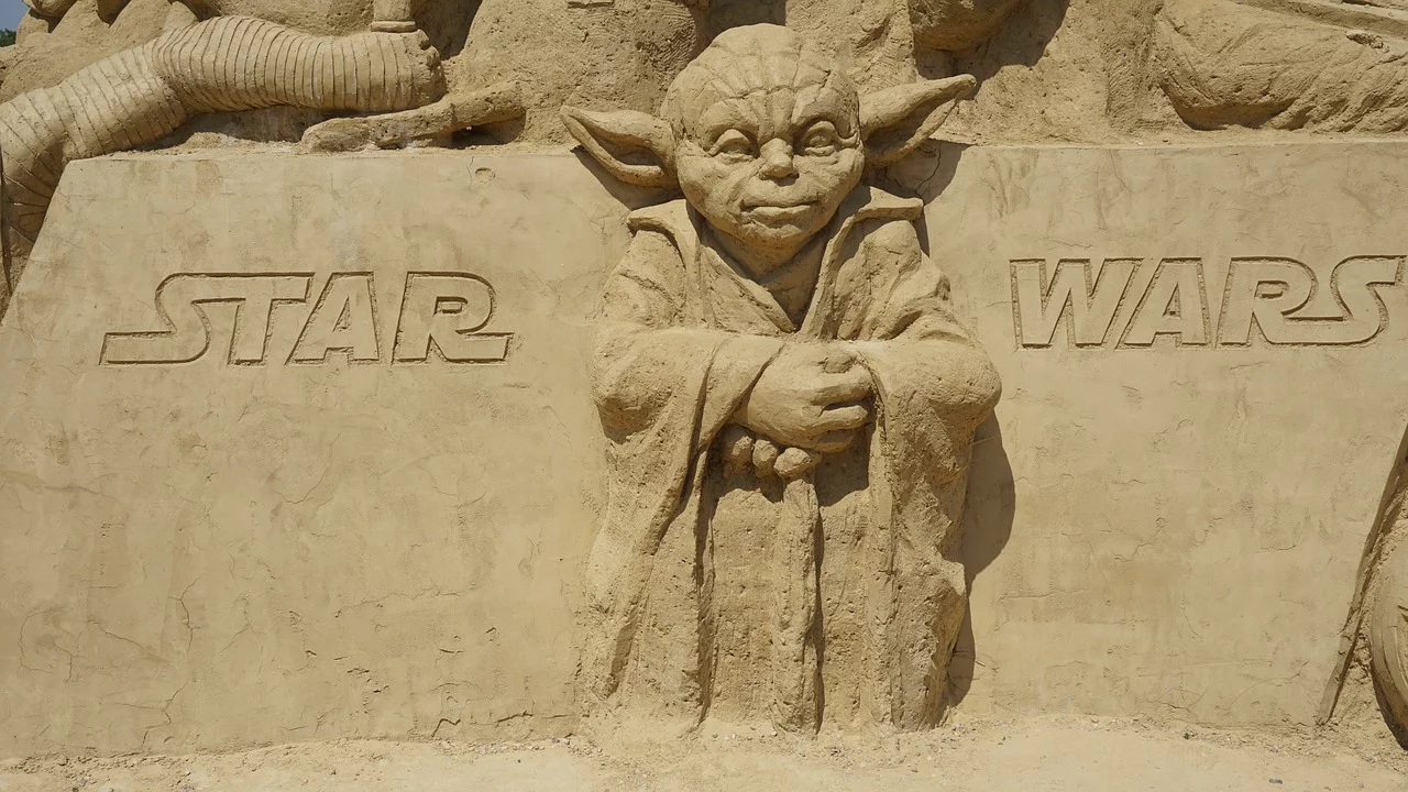 Yoda Star Wars Sand Figures