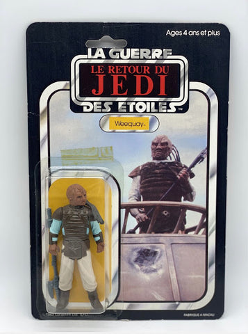 A French vintage Star Wars collectible - Weequay from France Meccano