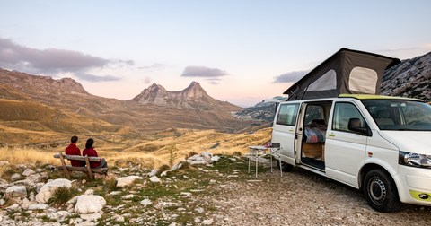 Park in remote locations with your class b rv