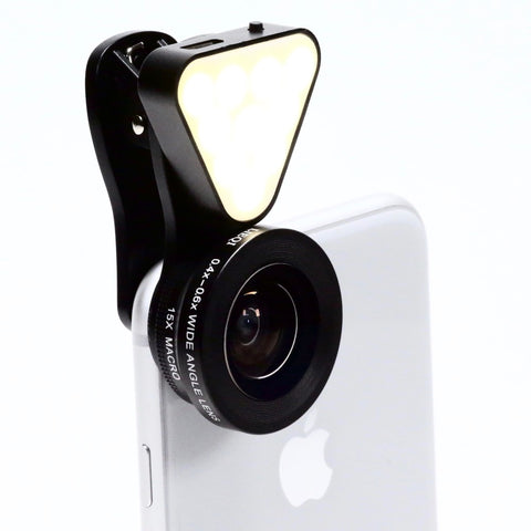 LED Clip-On Mobile Lens