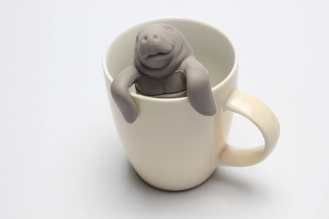 Manatee Loose-Leaf Tea Infuser / Tea Strainer
