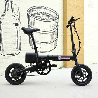 Defiance Tools electric bicycle beer