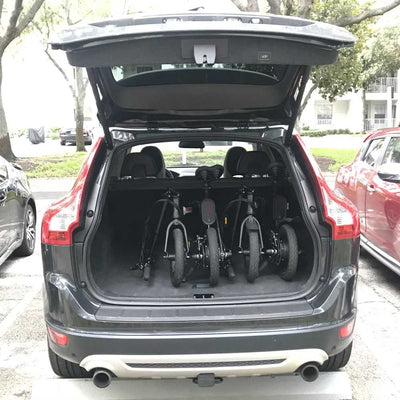 folding ebike fits in the car