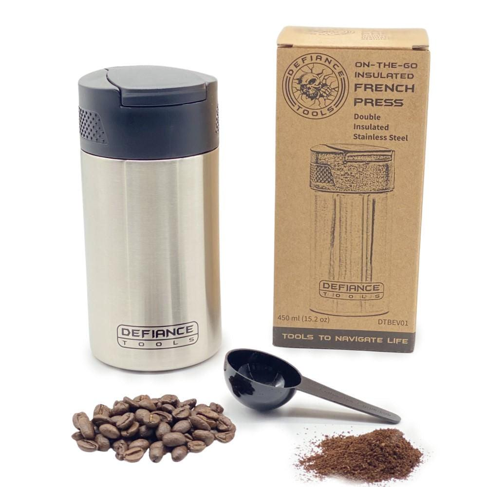 Defiance Tools Insulated French Press To-Go