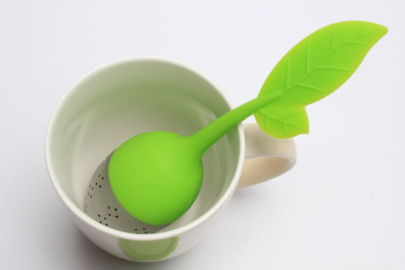 Stainless Steel Loose Leaf Tea Infuser and Tray