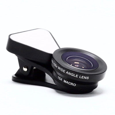 LED Clip-On Mobile Phone Lens