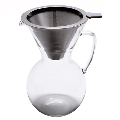 Pour Over Coffee Pot for 1 to 4 Cups of Delicious Coffee