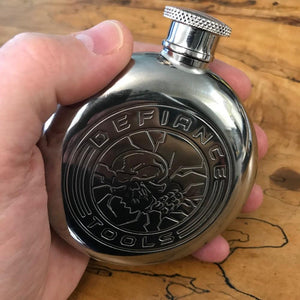 5 oz travel flask in my hand
