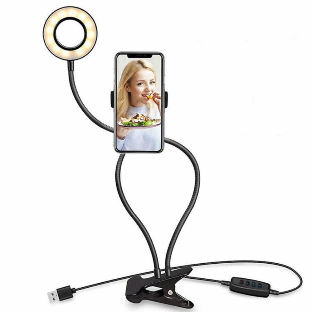personal live stream ring light