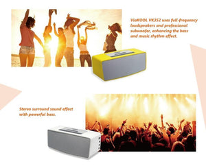 Portable Bluetooth Amplifier with 2 Microphones can play dance music