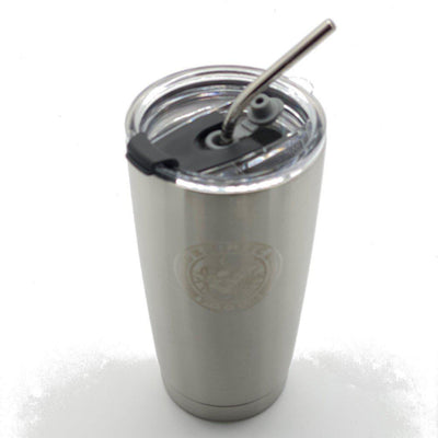 defiance tools tumbler 16 oz insulated with straw