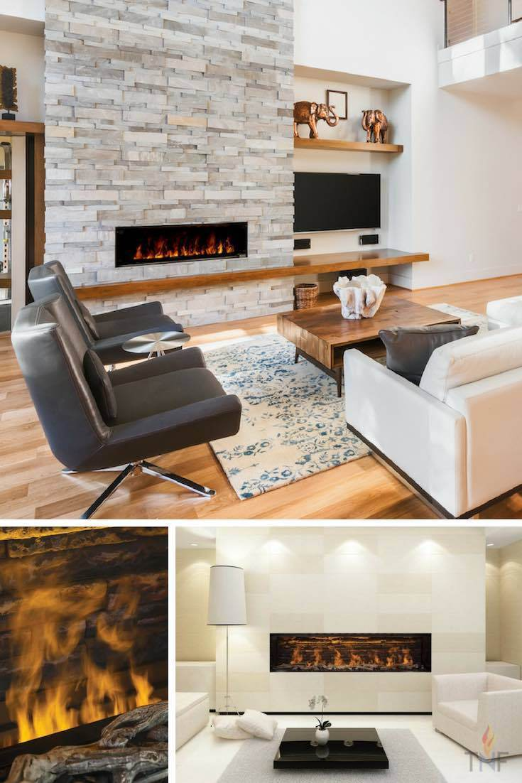 FusionFire - The Electric Steam Fireplace That's Redefining Fire