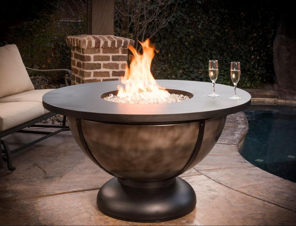 Gas Fire Pits - Elegant Low-Maintenance Outdoor Heating