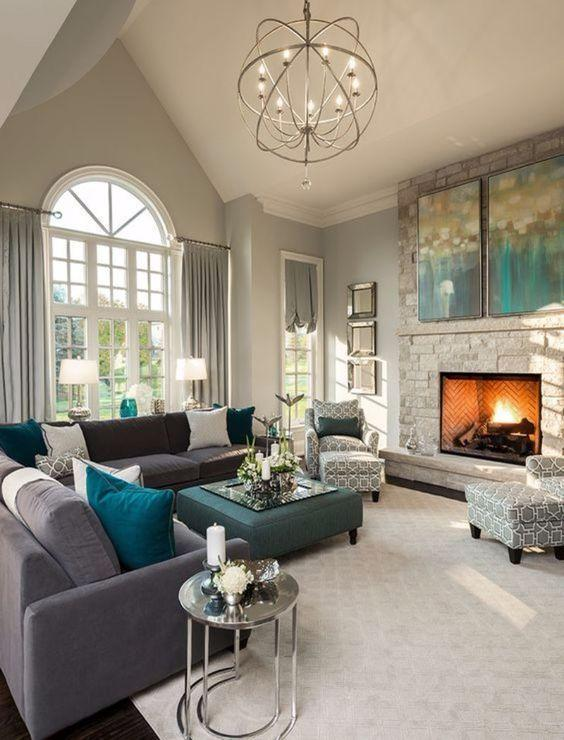 Fireplace Living Room Décor Ideas