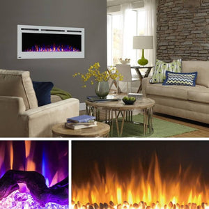 Eleven Upscale Electric Fireplaces...For Under $500!