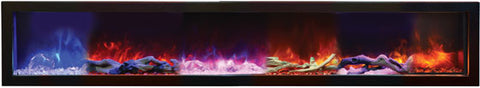 Electric Fireplace Ambient Canopy Lighting