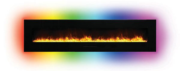 Amantii Electric Fireplace Surround Backlighting