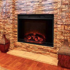 Edgeline - Touchstone's 28 LED Electric Firebox Fireplace Insert (80016)