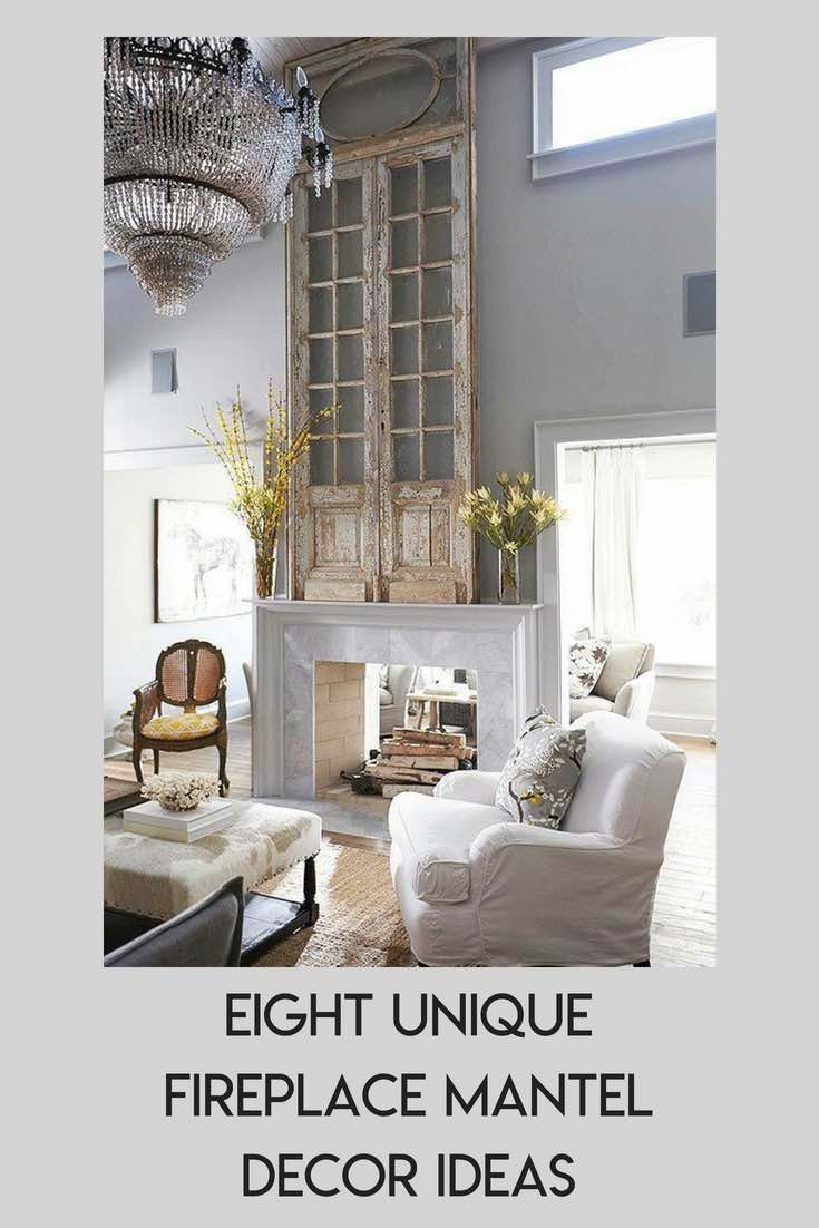 Eight Unique Fireplace Mantel Shelf Ideas With A High Quot Wow