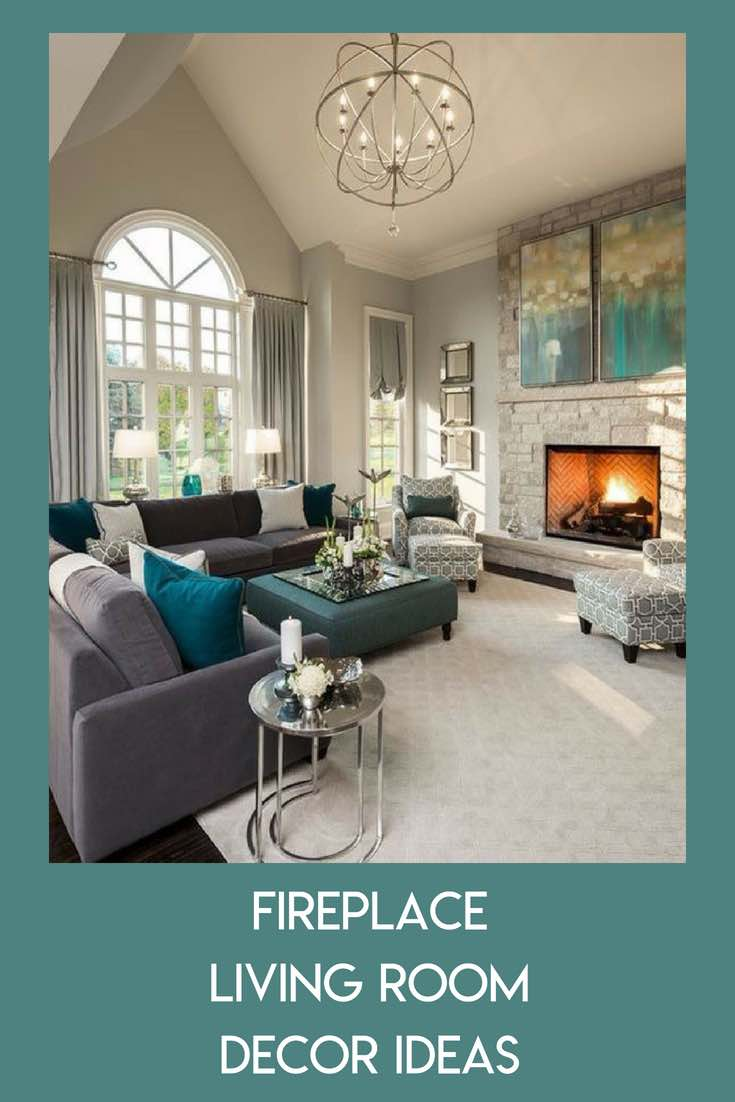 Fireplace Living Room Decor Ideas