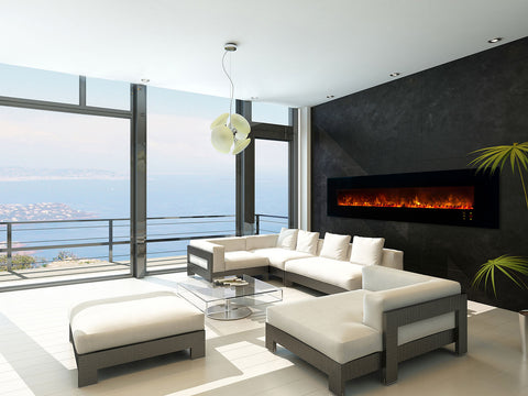 Compare electric fireplaces